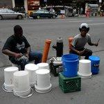 Street drummers