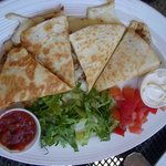 Quesadilla from Ray's Cafe, Hilton Head Island