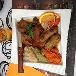 Navarin d'agneau en plat du jour très bon repas