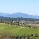 The stunning view of the Chianti region April 2014