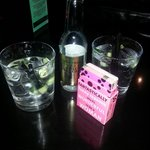 Bedrocks, tonic and cucumber ��