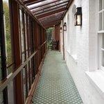 passage way to annex rooms