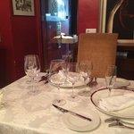 Poet's room dining
