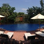 Lagoon private pool