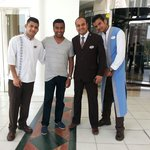 Thanks to the concierge Mr Avnish, Sheraz, Dhaniyal and all the team at Movenpick.