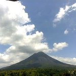 Arenal volcano view April 2014