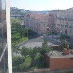 vista da janela do apartamento
