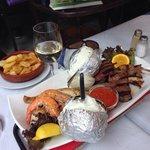 De 2 persoons vis en vlees schotel voor 18€ pp
