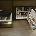 In room snack bar (paid)