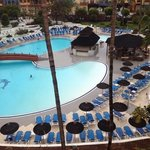 view of pool from room 304