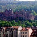 Castelo visto da cidade.