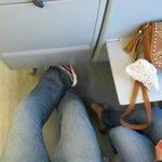 MASSIVE leg room - Mr Branson take note!!