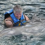 And the very best, holding a dolphin!!!!  WOW!
