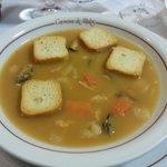 Soupe de crustacées