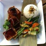 Seared Tuna at Plume Vineyard Restaurant Matakana