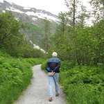 Walking Byron Glacier Trail