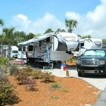 Campsite at Carrabelle RV Resort