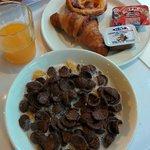 Desayuno variado