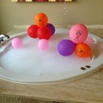 our daughter's jacuzzi! so fun! xo