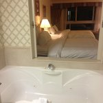 Jacuzzi and room!