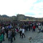 Entrada do Palácio de Versalhes-20/04/14-
