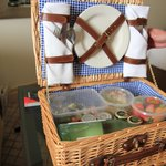 the Easter hamper