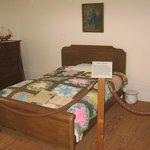 Jimmy Carter bedroom in boyhood home, Plains GA