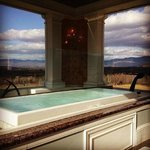 View from the Tower Spa Sok Tub