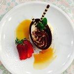 Uovo di cioccolato al tiramisu