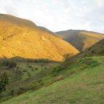 Vista hacia la colina