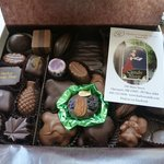 Delicious chocolate from Harbor Candy Shop