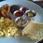 Guatemalan breakfast