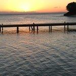 Sunset taken from hotel dock