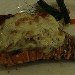 Monster lobster tail!