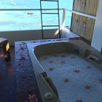 Jacuzzi at the balcony