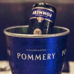 Pommery Champagne - our sponsor for Chef Latifa Ichou dinner event