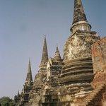 Chedi's at Wat Phra Sri Sanphet