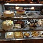 East Hanover Diner cake display