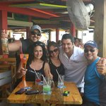 Señor Frog A+!!! The best place to eat and drink @ Freeport Bahamas. Rafa and all the staff are