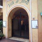 Villa de Flora Main Entrance