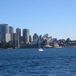 View of Opera House from ferry