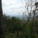 Vista desde la ladera, el viente es fuerte, excelente!