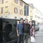 Photo with Mr Lele