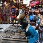 Il Porcellino, en el antiguo mercado de la paja