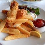Alaskan Cod Fish & Chips