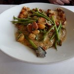 Trout with potatoes & green beans
