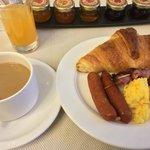 朝食.コンチネンタルにしては合格点