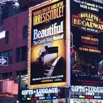 "NYC sights & sounds - going to the ""Beautiful"" musical was one of our highlights."