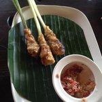delicious fish satay