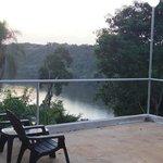Overlooking Iguazu River
